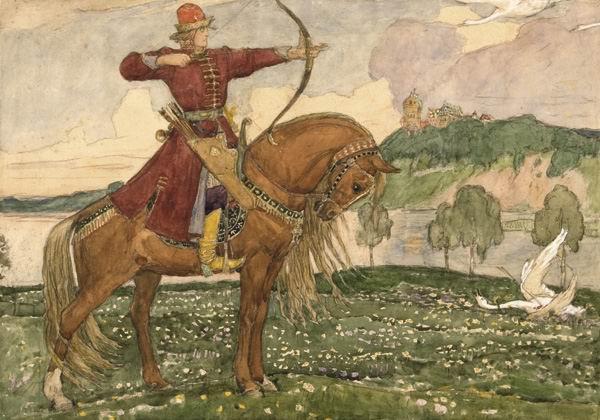 Иван-Царевич и лебедь