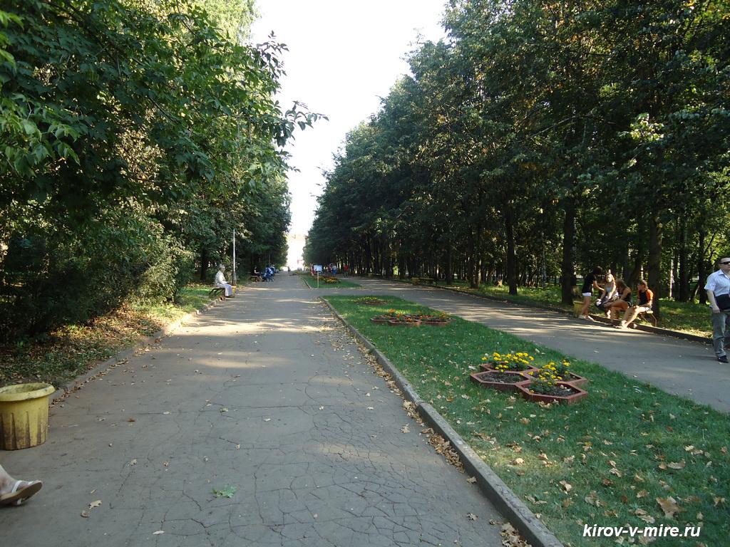Парки города Кирова