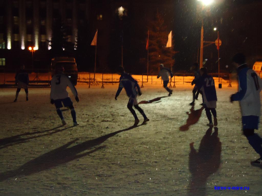 Футбол в Кирове Нововятич