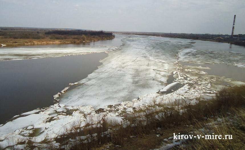 Лед на Вятке