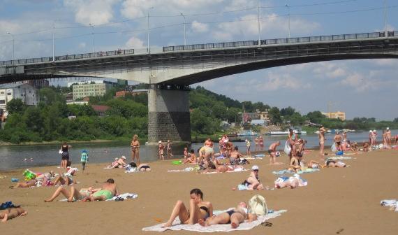 Открытие пляжей в Кирове