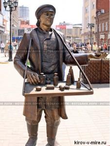 На Дрелевского появится новая скульптура