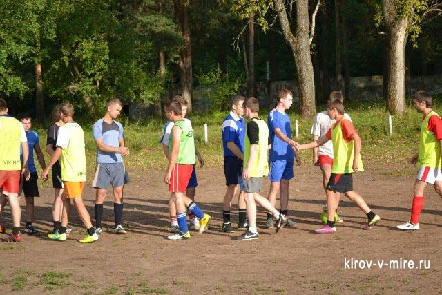 Футбольный турнир дворовых команд
