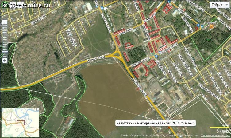 Новый микрорайон в Нововятске