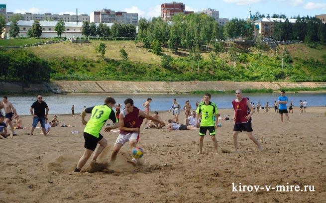 Пляжный футбол 7 июля