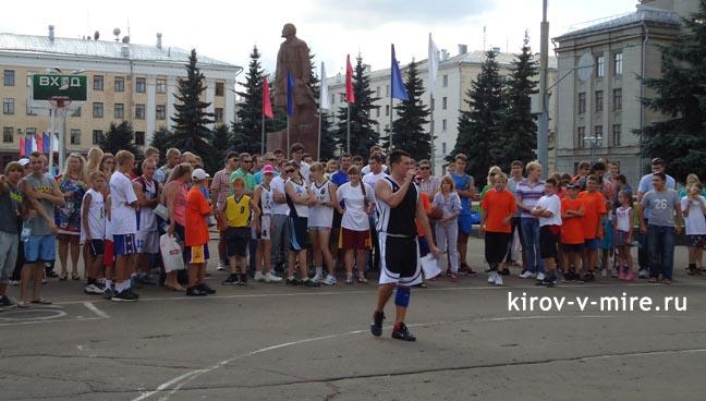 День физкультурников 2012 на Театральной площади