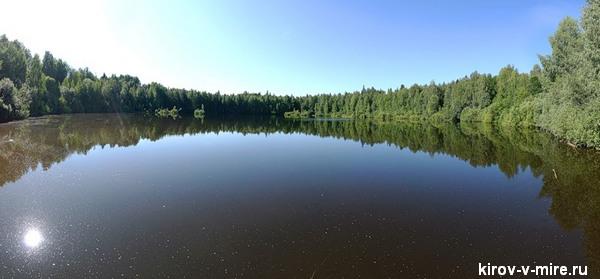 озеро Шайтан Конкурс «Чудо России 2012» в Кировской области