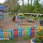 Новая детская площадка была открыта в Нововятске.