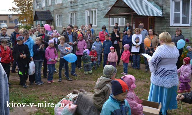 Гости открытия детской площадки