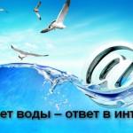Дома нет воды – ответ в интернете!