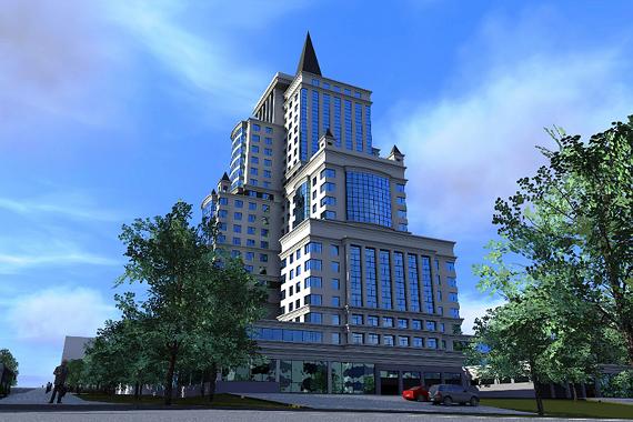 Когда в Кирове достроят элитный небоскреб