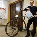Скульптура «Велосипед» появится в Кирове.