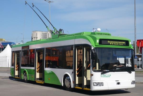Троллейбусы из Беларуси