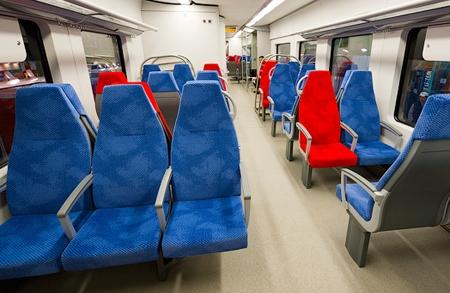 Поезд Ласточка внутри