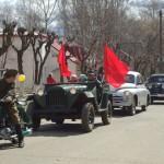 В Нововятске прошел парад в честь Дня Победы.