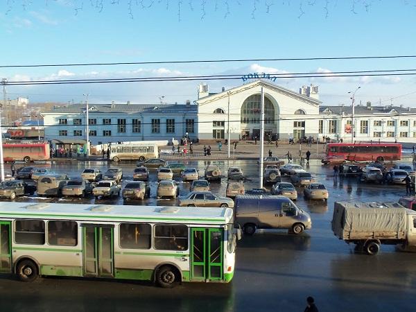Переход у вокзала