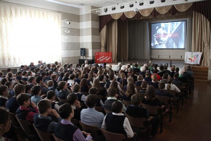 В Кирове провели показ необычного фильма к 70-летию Победы