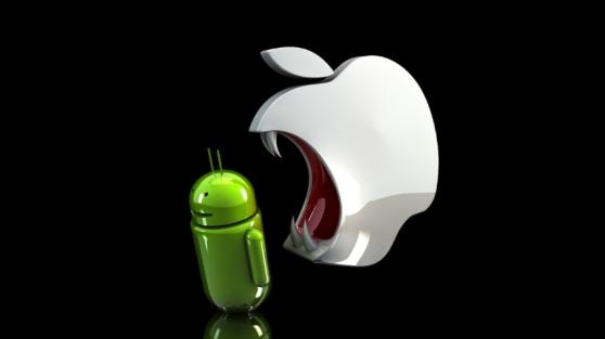 Android проигрывает iOS