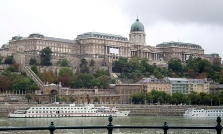 королевский дворец венгрия