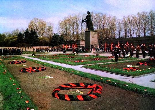 пискаревский мемориал фото возложение3