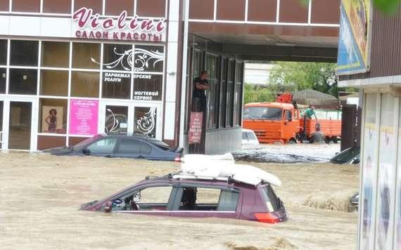наводнение в сочи 2