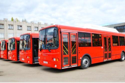 Первые экологические автобусы появились в Кирове