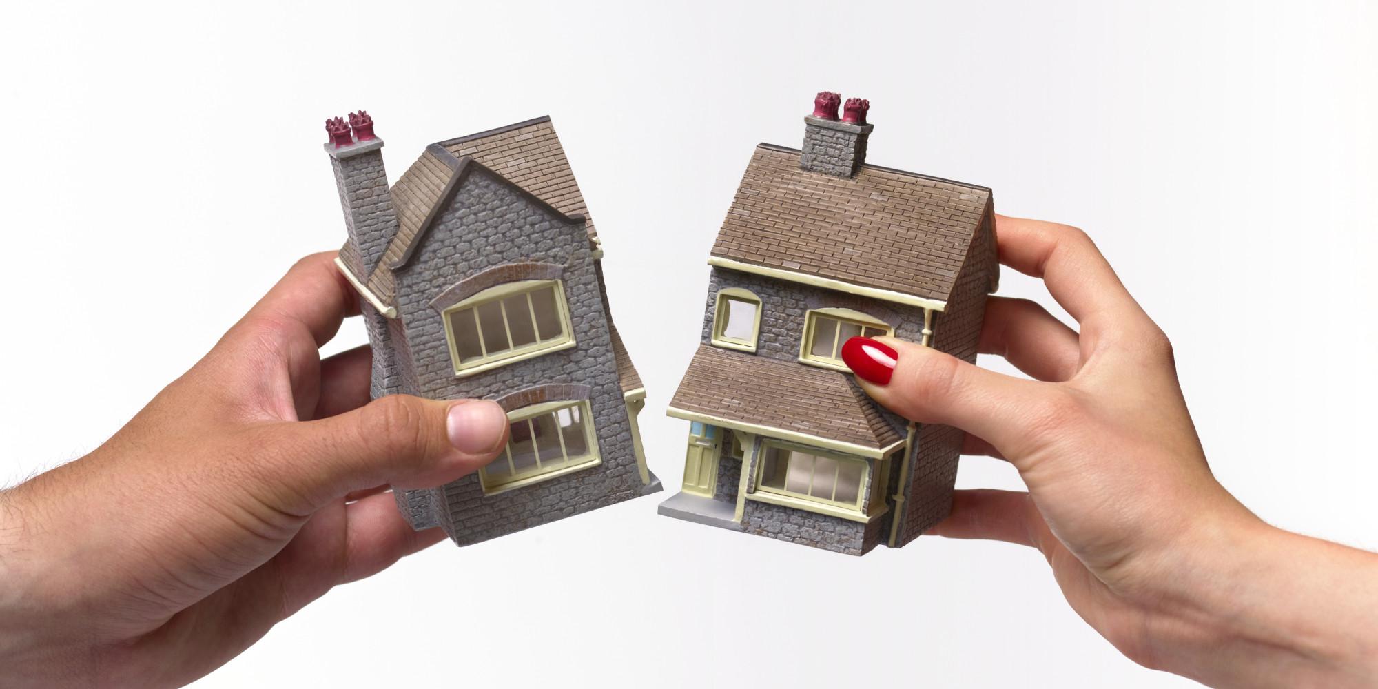 как делить квартиру в иппотеке