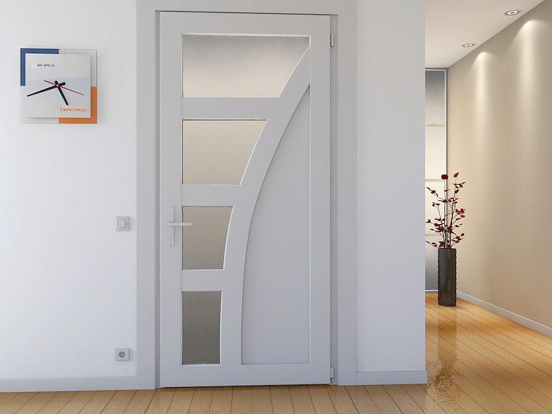 в чем плюсы дверей сделанных из пвх материала