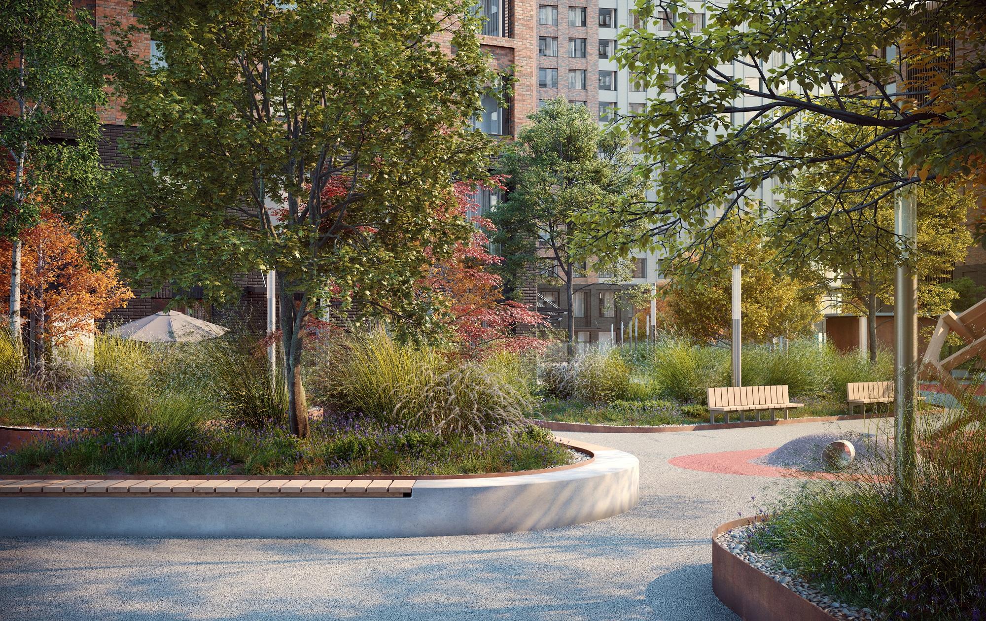 «Главстрой» запускает уникальную социокультурную программу парков в жилых кварталах