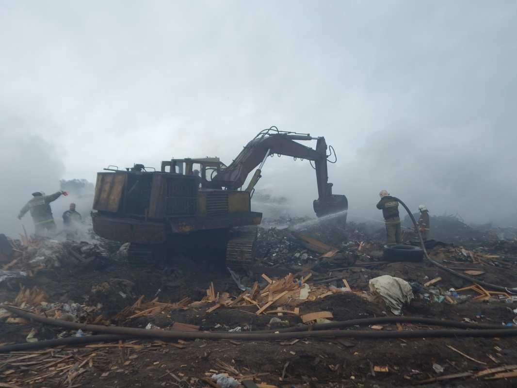 На Лубягинском полигоне создадут объект по утилизации и обработке ТБО