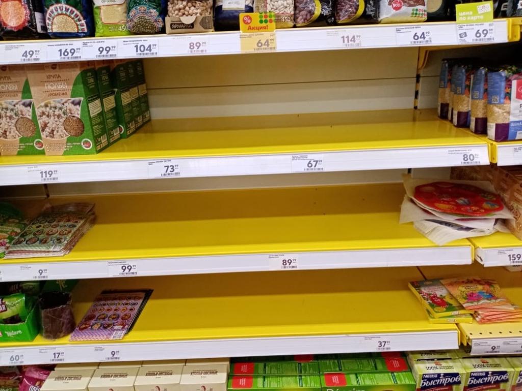 Кировское правительство пообещало не допустить продовольственного кризиса
