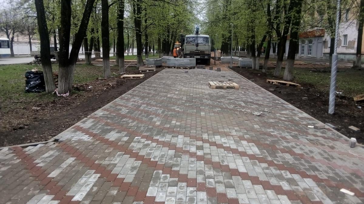 В Кирове займутся благоустройством территории бульвара по улице Ломоносова
