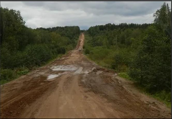 Водители не оценили ремонт трассы Омутнинск-Песковка