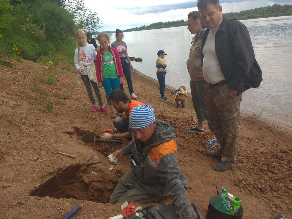 Кировские археологи обнаружили останки парейазавра