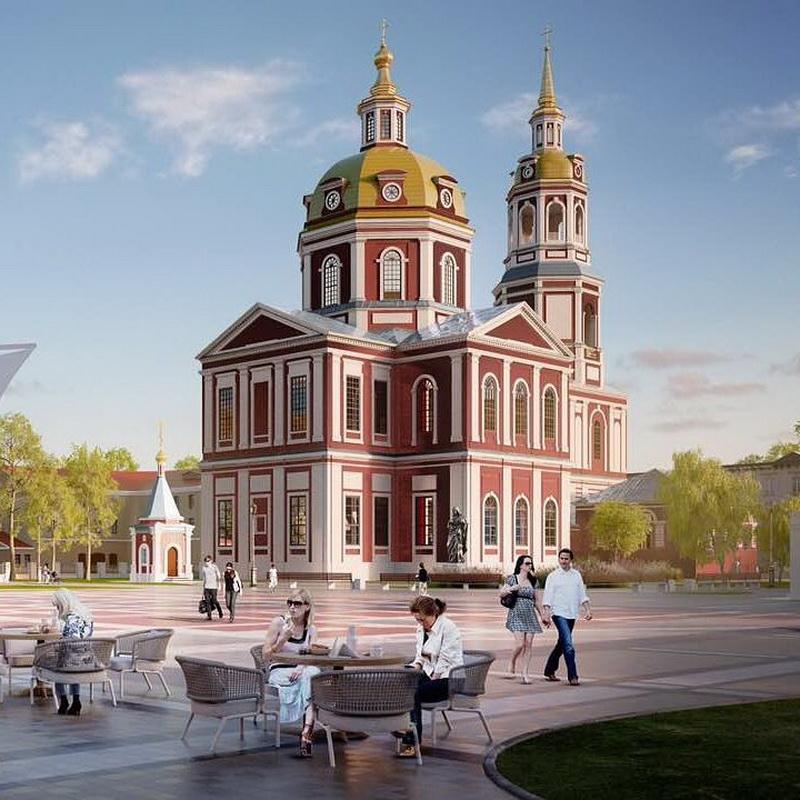Территория Спасского собора станет еще красивее