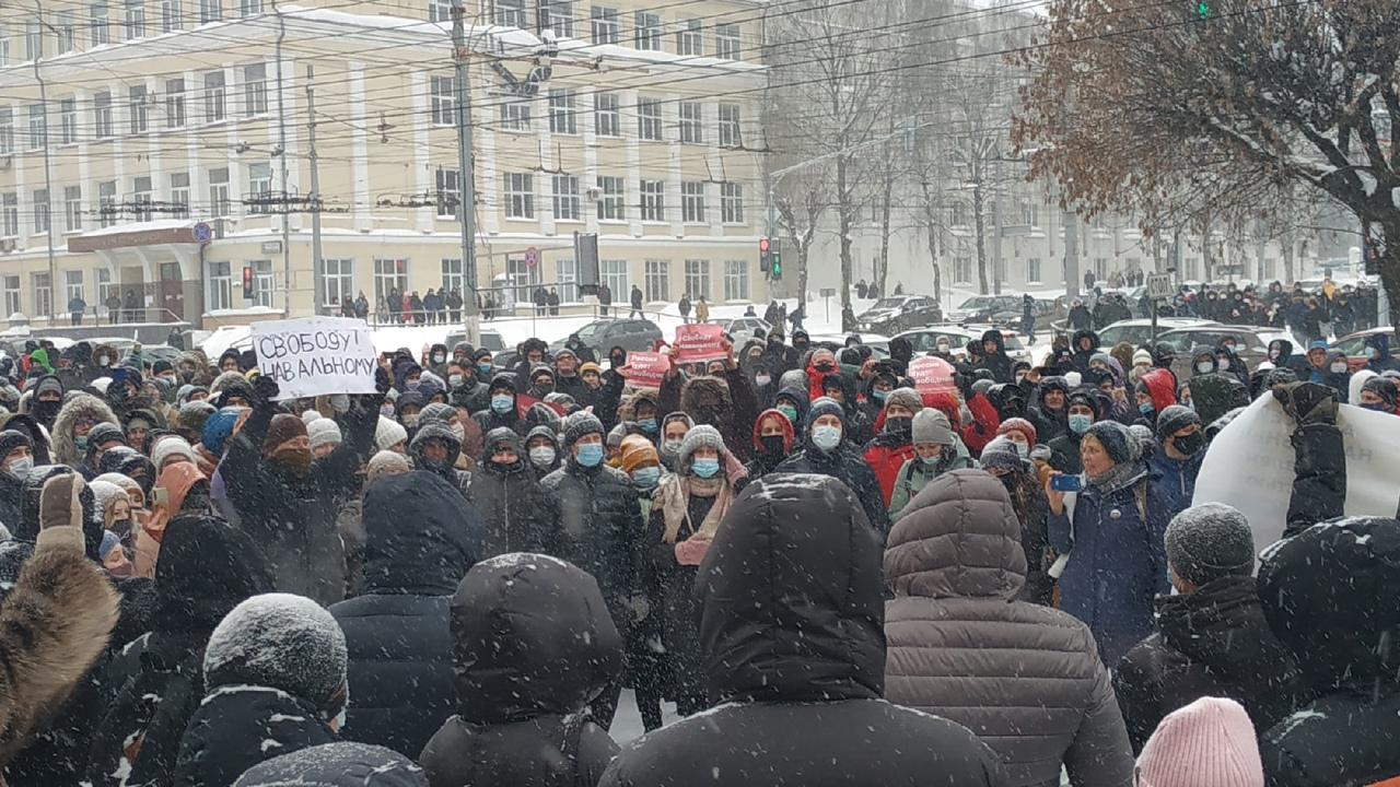 Кировские власти дали комментарии по поводу акции в поддержку Алексея Навального