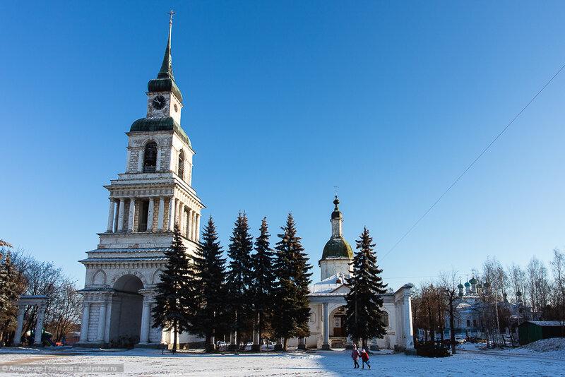 В Преображенском соборе Слободского обновят колокольню
