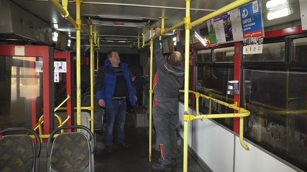 Кировские автобусы оснастили рециркуляторами
