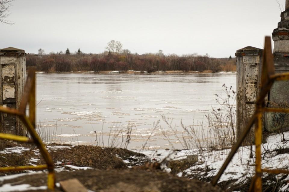 Уровень воды в Вятке продолжает расти: пока ситуация опасений не вызывает
