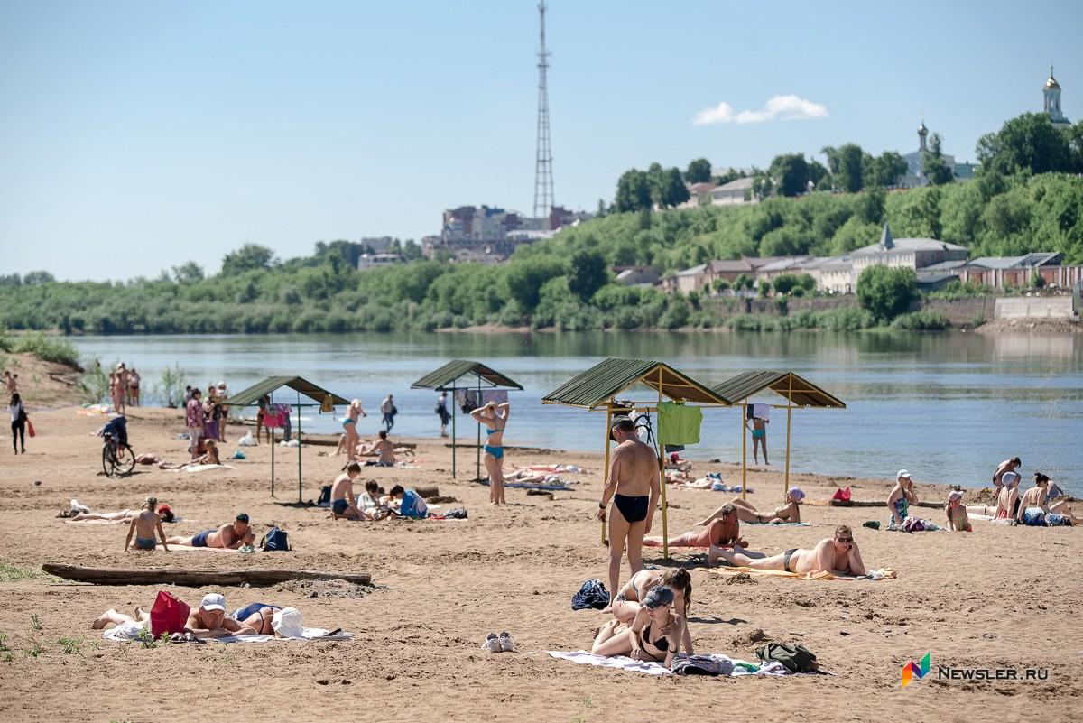 Кировский пляж защитят от ковида