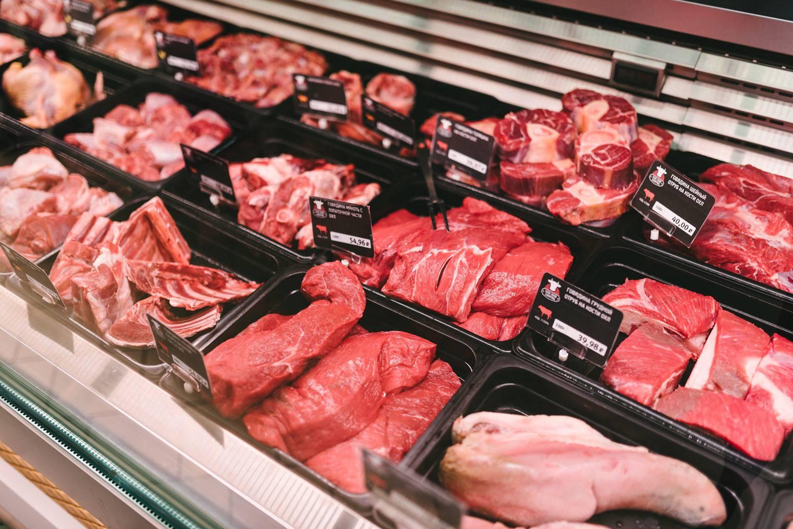 В торговой точке Орловского района продавалось мясо без документов
