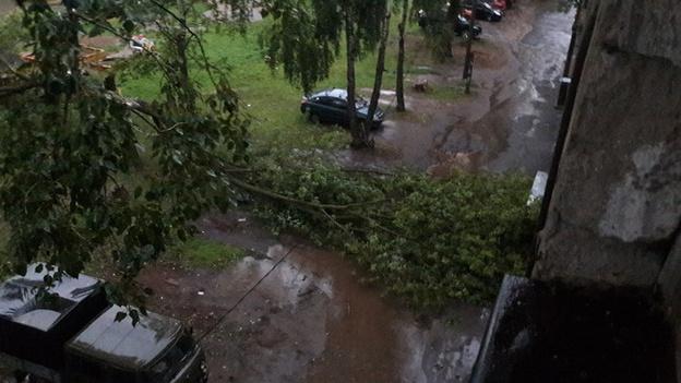 По Кирову прокатился ураган