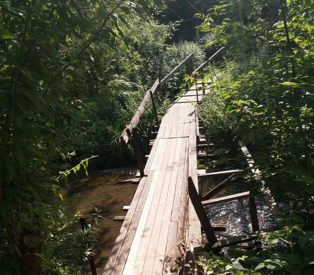 Кировчане ежедневно рискуют здоровьем, проходя по аварийным мостам
